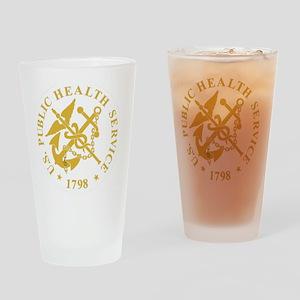 USPHS-Black-Shirt-3 Drinking Glass