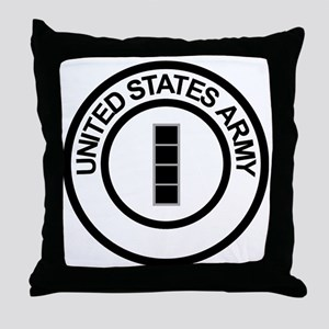 Army-CWO4-Ring Throw Pillow