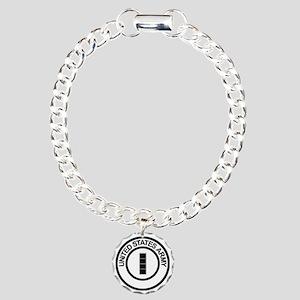 Army-CWO4-Ring Charm Bracelet, One Charm