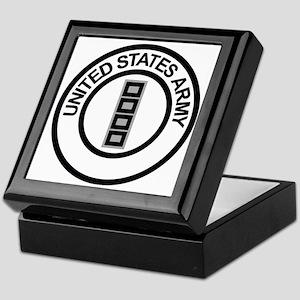 Army-CWO5-Ring Keepsake Box