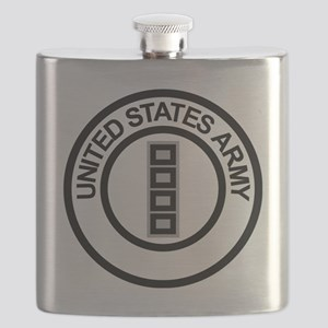 Army-CWO5-Ring Flask