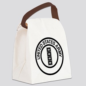 Army-CWO5-Ring Canvas Lunch Bag