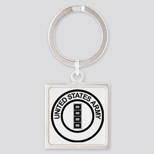Army-CWO5-Ring Square Keychain