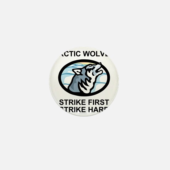 Army-172nd-Stryker-Bde-Arctic-Wolves-1 Mini Button