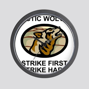Army-172nd-Stryker-Bde-Arctic-Wolves-2- Wall Clock