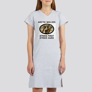 Army-172nd-Stryker-Bde-Arctic-W Women's Nightshirt
