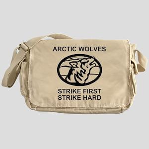 Army-172nd-Stryker-Bde-Arctic-Wolves Messenger Bag