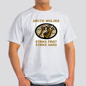 Army-172nd-Stryker-Bde-Arctic-Wolves Light T-Shirt