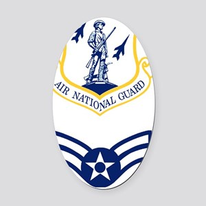 ANG-A1c-Journal Oval Car Magnet