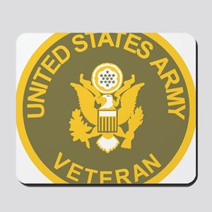 Army-Veteran-Olive-Gold Mousepad