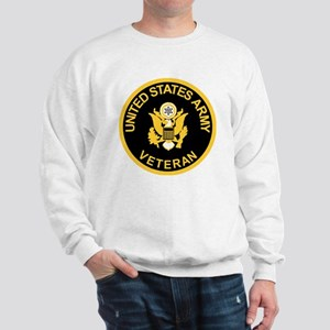 Army-Veteran-Black-Gold Sweatshirt