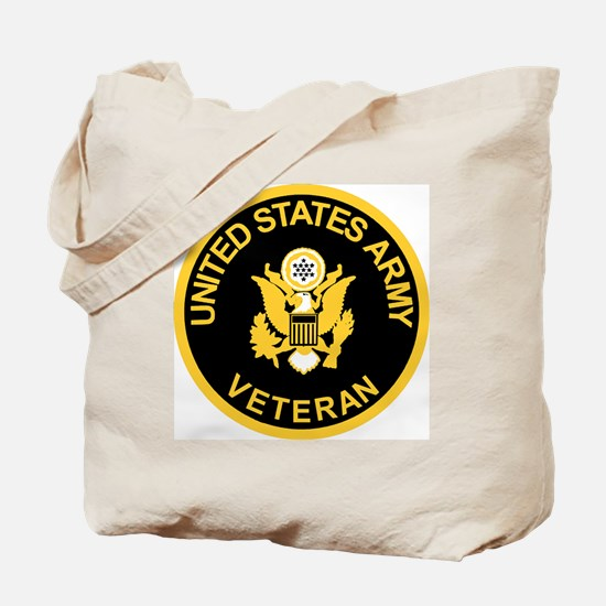 Army-Veteran-Black-Gold.gif Tote Bag