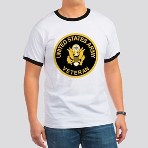 Army-Veteran-Black-Gold Ringer T
