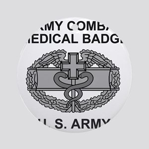 Army-Combat-Medic-Shirt Round Ornament