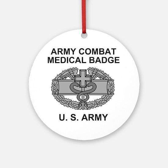 Army-Combat-Medic-Shirt.gif Round Ornament