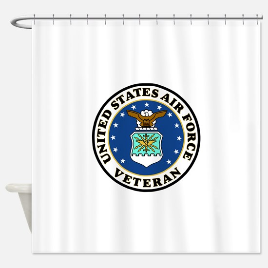USAF-Veteran-Bonnie-2.gif Shower Curtain