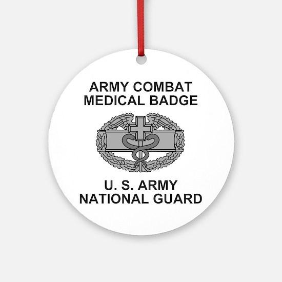 ARNG-Combat-Medic-Shirt.gif Round Ornament