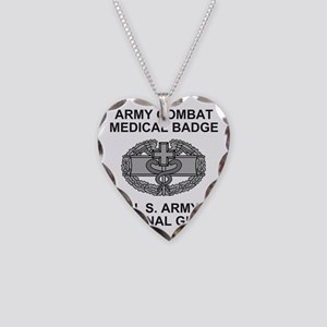 ARNG-Combat-Medic-Shirt Necklace Heart Charm