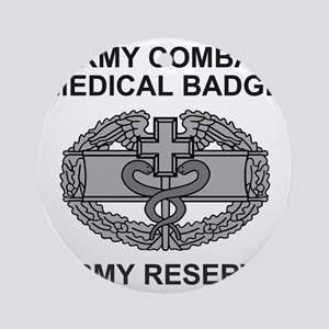 USAR-Combat-Medic-Shirt Round Ornament