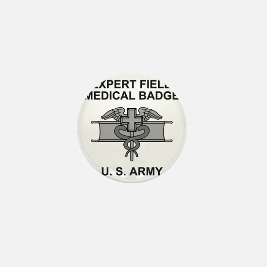 Army-Expert-Field-Medical-Badge-Shirt. Mini Button