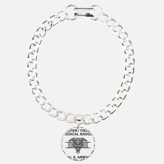 Army-Expert-Field-Medica Charm Bracelet, One Charm