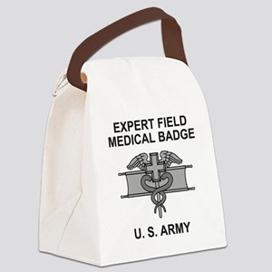 Army-Expert-Field-Medical-Badge-S Canvas Lunch Bag