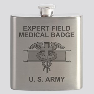 Army-Expert-Field-Medical-Badge-Shirt Flask