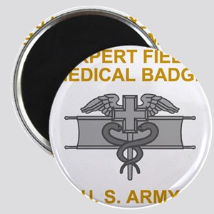 Army-Expert-Field-Medical-Badge-Black-Shirt Magnet