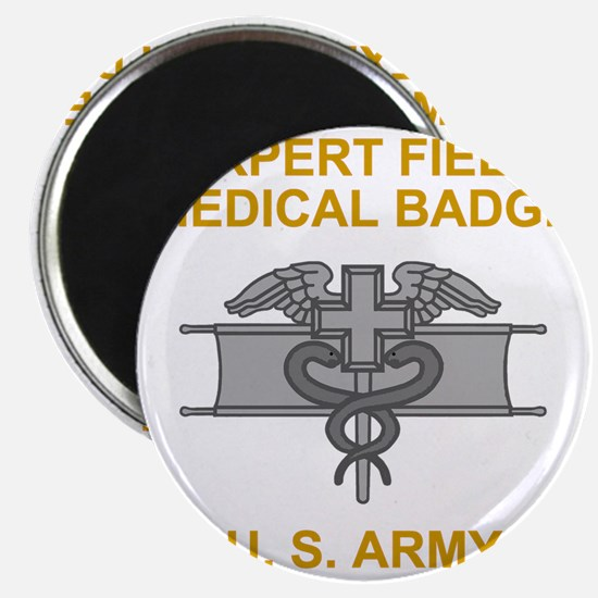 Army-Expert-Field-Medical-Badge-Black-Shirt Magnet