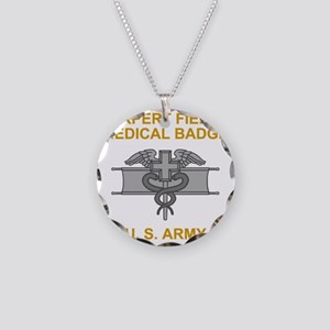 Army-Expert-Field-Medical-Ba Necklace Circle Charm