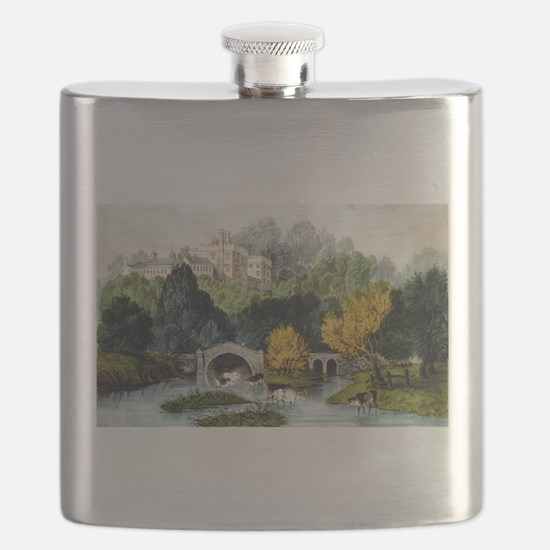 Lismore Castle - County Waterford - 1907 Flask