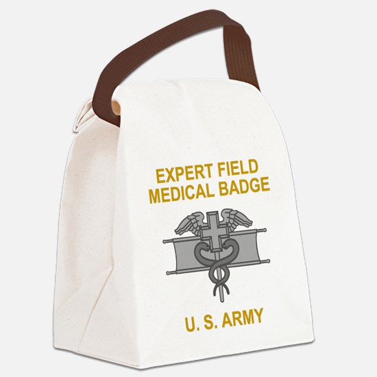 Army-Expert-Field-Medical-Badge-B Canvas Lunch Bag