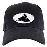 Snowmobile Black Cap