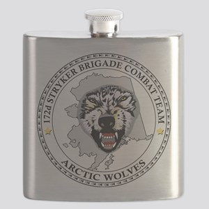 Army-172nd-Stryker-Bde-Arctic-Wolves-Patch-B Flask