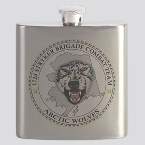 Army-172nd-Stryker-Bde-Arctic-Wolves-Black-S Flask