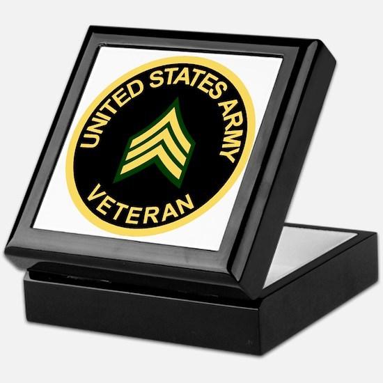 Army-Veteran-Sgt-Black.gif Keepsake Box