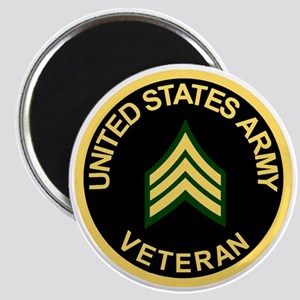 Army-Veteran-Sgt-Black Magnet