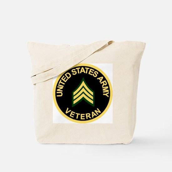 Army-Veteran-Sgt-Black.gif Tote Bag