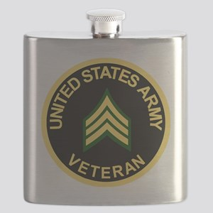 Army-Veteran-Sgt-Black Flask
