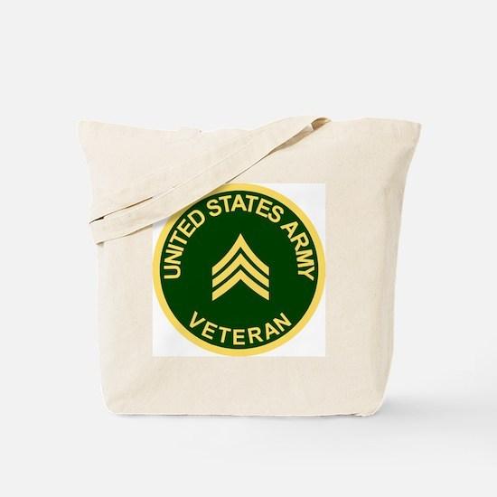 Army-Veteran-Sgt-Green.gif Tote Bag
