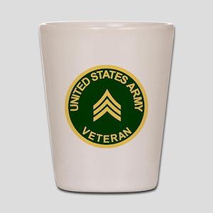 Army-Veteran-Sgt-Green Shot Glass