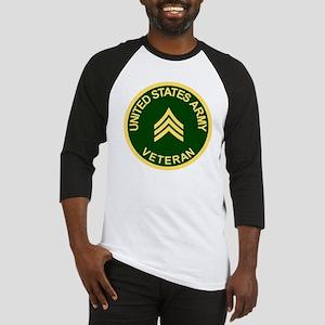 Army-Veteran-Sgt-Green Baseball Jersey