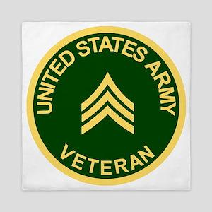 Army-Veteran-Sgt-Green Queen Duvet