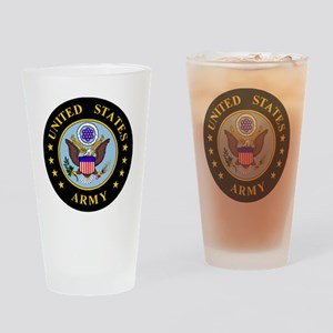 Army-Emblem3X-To-Match-Emblem4 Drinking Glass