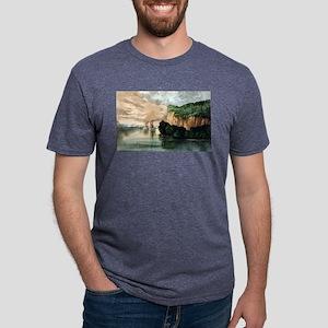 Maiden rock - Mississippi River - 1910 Mens Tri-bl