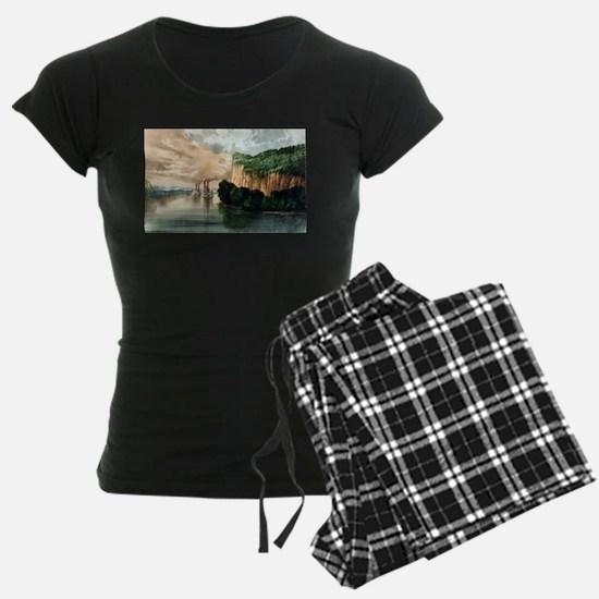 Maiden rock - Mississippi River - 1910 Pajamas
