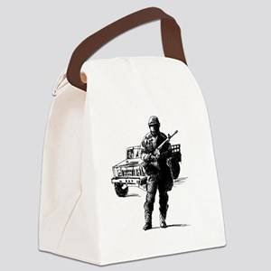 International-Guard-My-Boyfriend. Canvas Lunch Bag