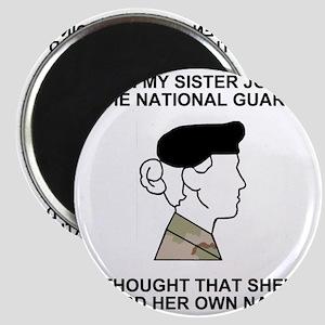 International-Guard-My-Sister Magnet