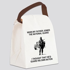International-Guard-My-Father Canvas Lunch Bag