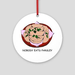 Sploodal-Parsley-2 Round Ornament